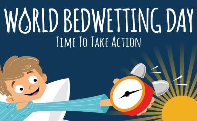 World Bedwetting Day - Time to take action